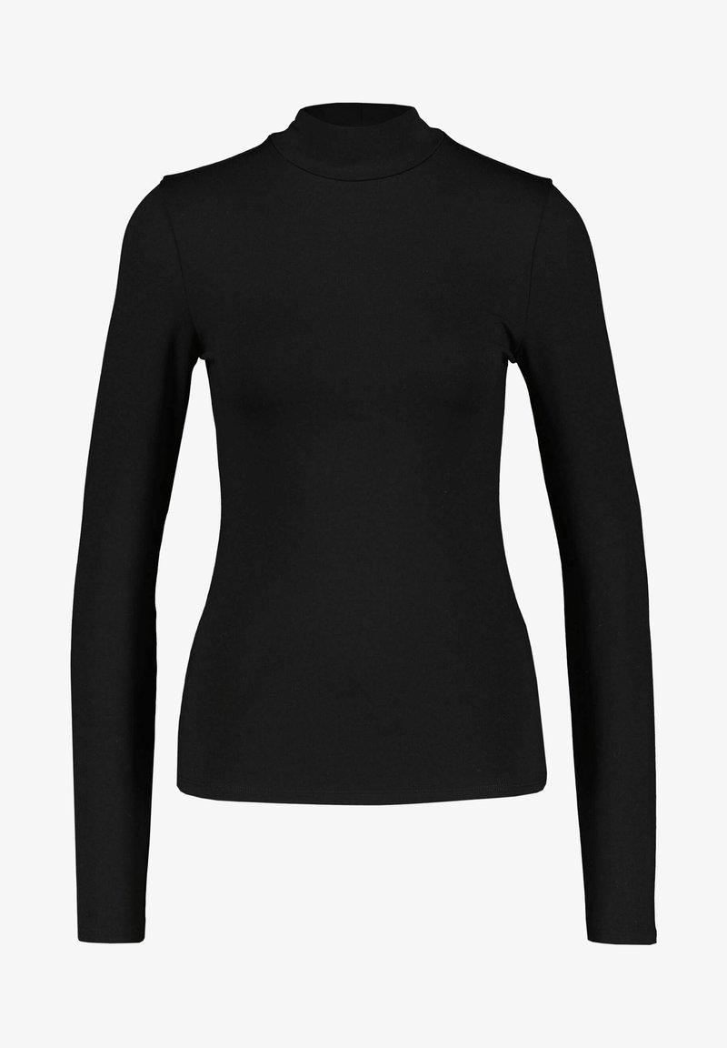 BOSS - LANGARM EMATA - Pitkähihainen paita - schwarz