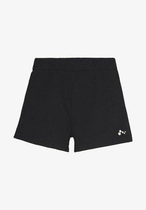 ONPJYNX LIFE REGULAR SHORTS - Sports shorts - black/white gold