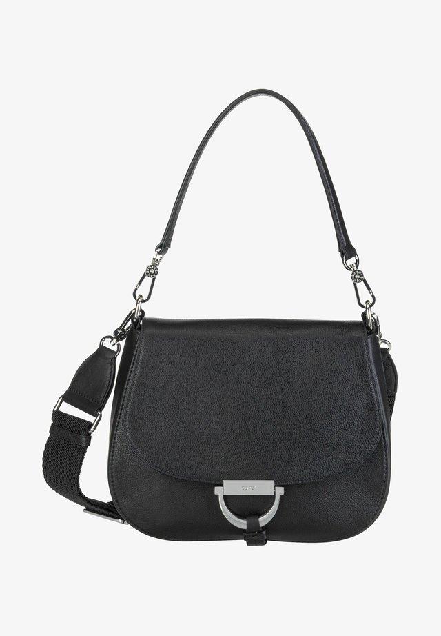 Handbag - black/nickel