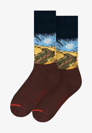 VINCENT VAN GOGH : WHEATFIELD WITH CROWS - Sokken - multicoloured