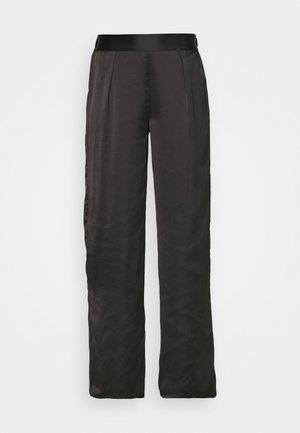 ERINA PANTALON - Pantaloni del pigiama - noir