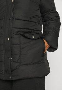 Vero Moda Curve - VMSKYLAR JACKET - Winter coat - black - 5