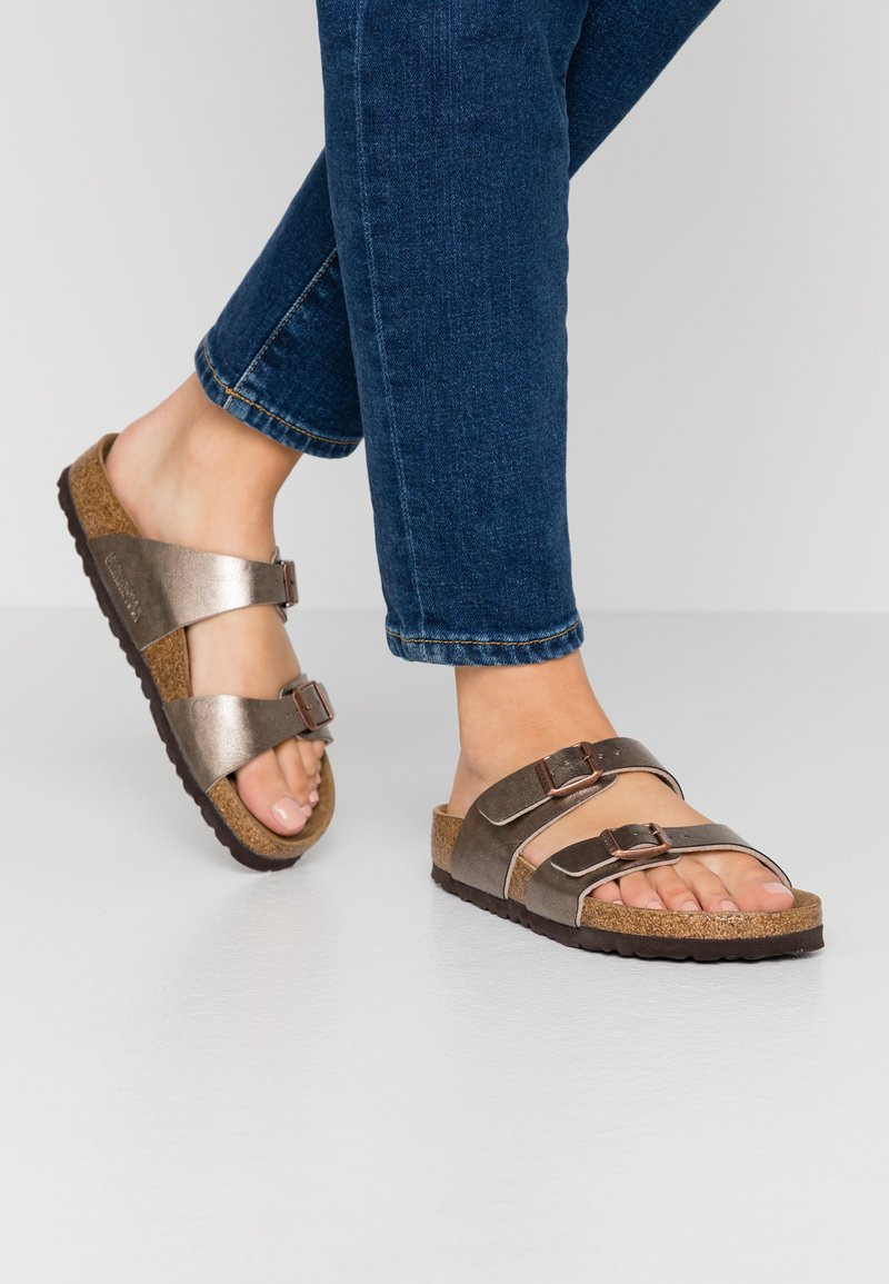 Birkenstock - SYDNEY - Chaussons - graceful taupe