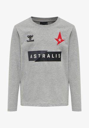 ASTRALIS - Long sleeved top - grey melange