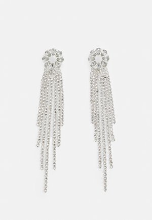 ONLDAMAI RHINE EARRING - Earrings - silver-coloured/clear