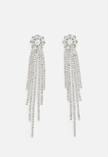 ONLDAMAI RHINE EARRING - Earrings - silver-coloured/clear