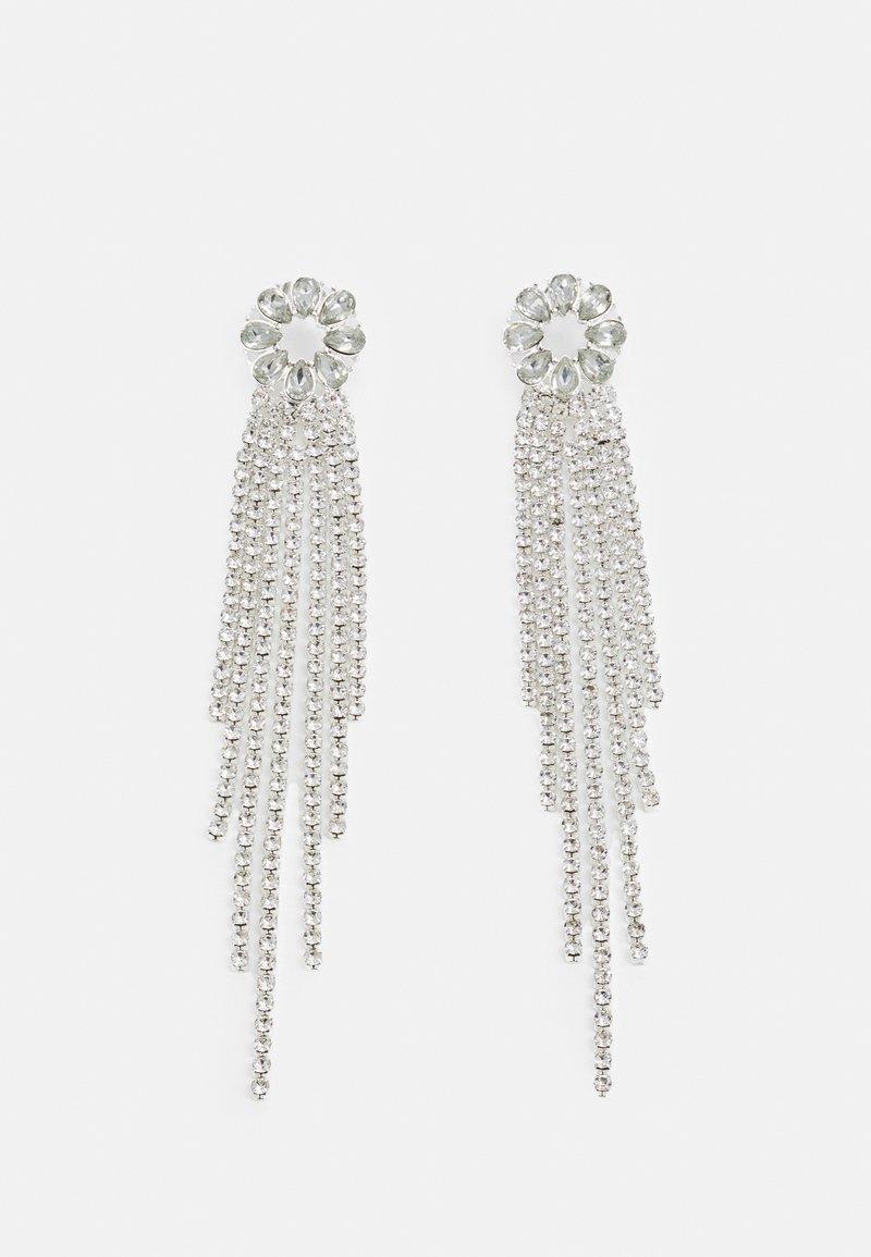 ONLY - ONLDAMAI RHINE EARRING - Earrings - silver-coloured/clear