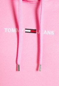 Tommy Jeans - LINEAR LOGO HOODIE - Hoodie - pink daisy - 2