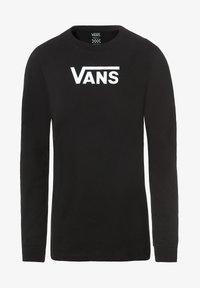 Vans - WM FLYING V CLASSIC LS BF - Long sleeved top - black - 1