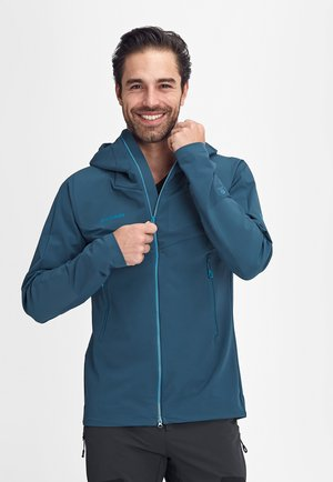 AENERGY PRO  - Soft shell jacket - wing teal