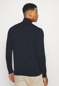 Burton Menswear London - CORE HALF ZIP - Jumper - navy - 2