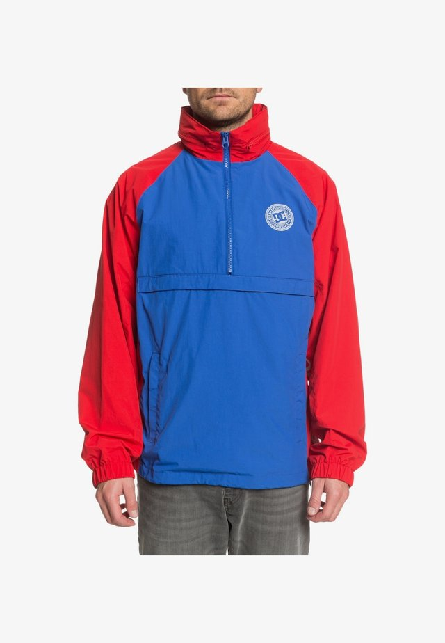 DC SHOES™ MITFORD - TRAININGSJACKE MIT HALBREISSVERSCHLUSS FÜR MÄ - Veste de survêtement - nautical blue