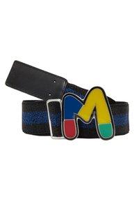 M Missoni - CINTURA ELASTICA NASTRO - Pásek - black/blue - 3