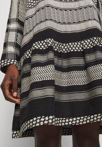 CECILIE copenhagen - DRESS - Vestito estivo - black/stone - 7