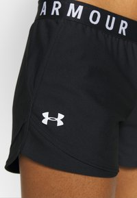 Under Armour - PLAY UP SHORTS 3.0 - kurze Sporthose - black/white
