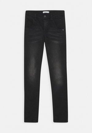 NITCLAS - Slim fit jeans - black
