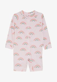 Cotton On - HARRIS ONE PIECE BABY - Plavky - barely pink rainbow dreams - 2