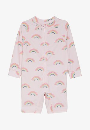 HARRIS ONE PIECE BABY - Plavky - barely pink rainbow dreams