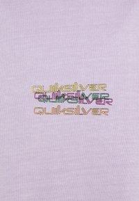 Quiksilver - TANGLED - Printtipaita - pastel lilac - 2