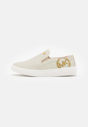 JEM RACHEL - Sneakers basse - vanilla/gold