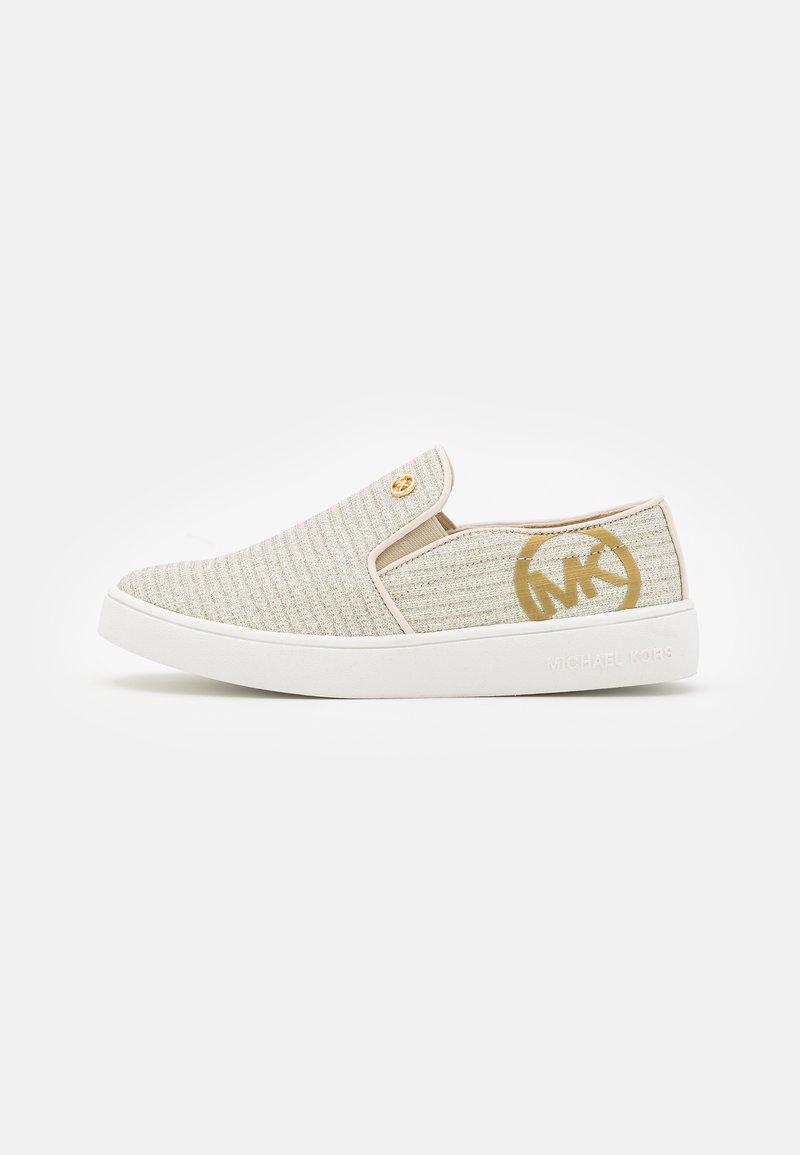 MICHAEL Michael Kors - JEM RACHEL - Sneakers basse - vanilla/gold