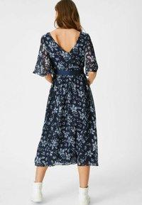 C&A - Day dress - dark blue - 1