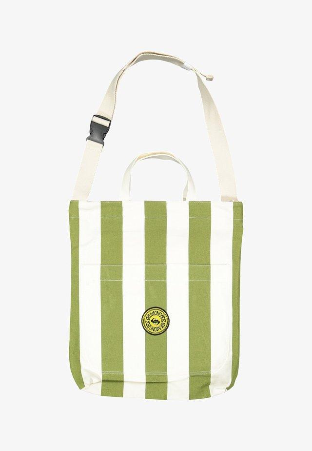 Tote bag - calliste gr bold linen stripes