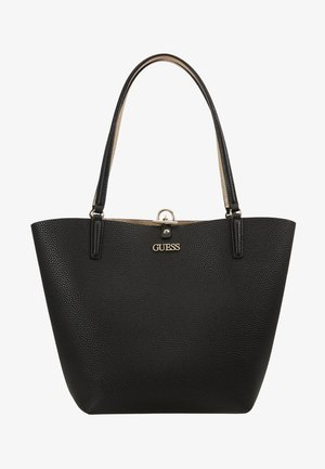 ALBY TOGGLE TOTE SET - Tote bag - black/gold