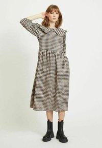 Vila - Day dress - navy blazer - 1