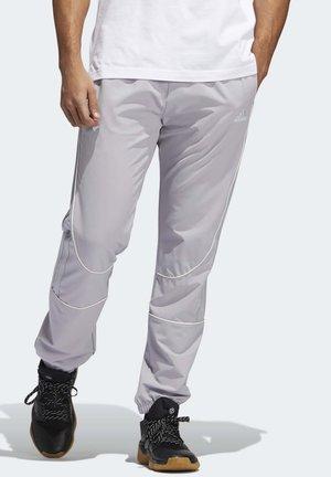 HARDEN COVER-UP TRACKSUIT BOTTOMS - Spodnie treningowe - grey