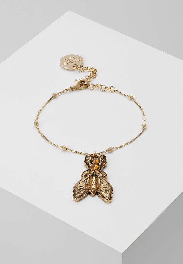 BRACCIALE CON PIETRE - Rannekoru - amber