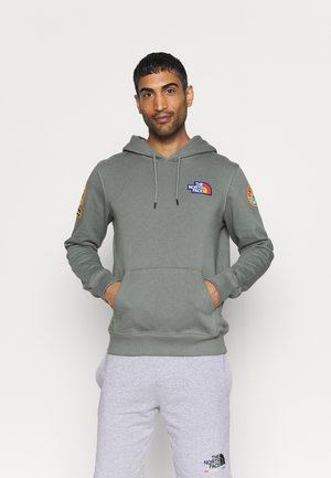 NOVELTY PATCH HOODIE - Sweat à capuche - agave green