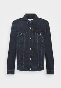 Calvin Klein Jeans - FOUNDATION DENIM JACKET - Kurtka jeansowa - blue black - 5