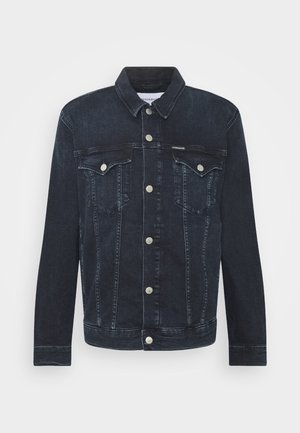 FOUNDATION DENIM JACKET - Denim jacket - blue black