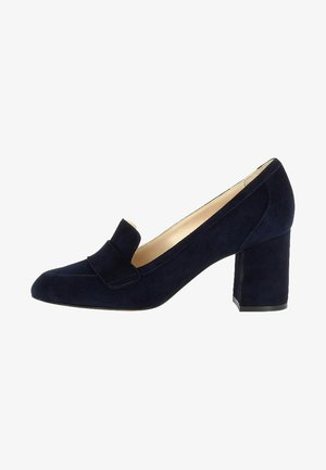 NELLY - Classic heels - dark blue