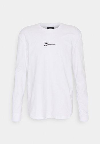 UNISEX - Pitkähihainen paita - white