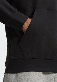 adidas Performance - CAMOUFLAGE HD ESSENTIALS SPORTS REGULAR SWEATSHIRT HOODIE - Luvtröja - black - 5