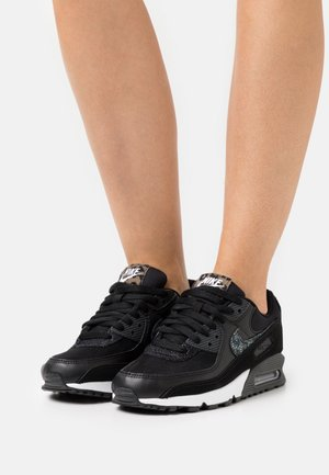 AIR MAX 90 - Sneakers laag - black/off noir/white