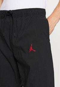Jordan - PANT - Träningsbyxor - black/gym red - 4