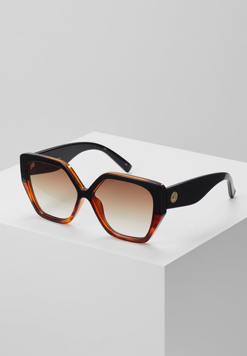 Le Specs - SO FETCH - Zonnebril - black/tort