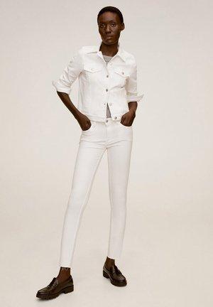 VICKY - Denim jacket - weiß