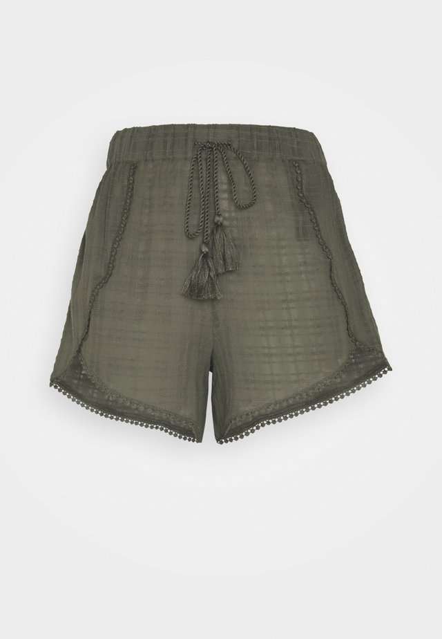 YASFULLA FEST TALL - Shorts - olive night