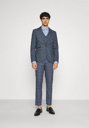 CAVAN - Suit - blue check