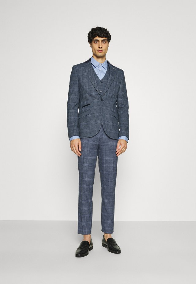CAVAN - Costume - blue check