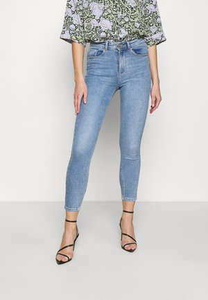 HIGH WAIST - Slim fit jeans - medium blue