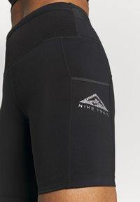 Nike Performance - EPIC LUXE SHORT - Punčochy - black/moke grey - 3