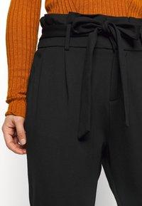 ONLY Petite - ONLPOPTRASH LIFE YO EASY - Trousers - black - 3