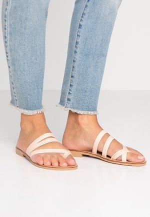 RINGTONE - T-bar sandals - pink