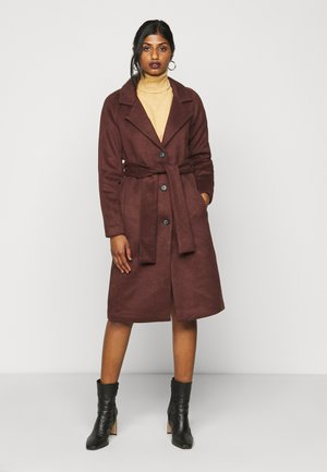 OBJLENA COAT - Kåpe / frakk - chicory coffee