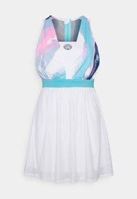 BIDI BADU - ANKEA TECH DRESS - Sports dress - white/aqua - 1